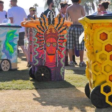 Coachella 2014:TRASHed Art of Recycling