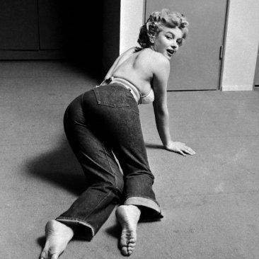 Marilyn Monroe con sus Levi's®