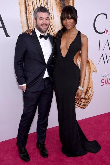 Brandon Maxwell y Naomi Campbell