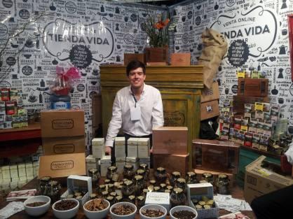 Max Lucía, sommelier de té y creador de Delhi Tea - cortesía Agencia Graciela Frega